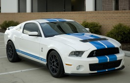 Размер шин и дисков на Ford, Mustang Shelby GT500, II Restyling, 2010 - 2014