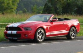 Размер шин и дисков на Ford, Mustang Shelby GT500, II, 2007 - 2009